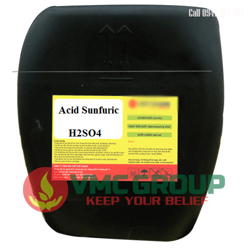 Axit sulfuric H2SO4 98%viet my