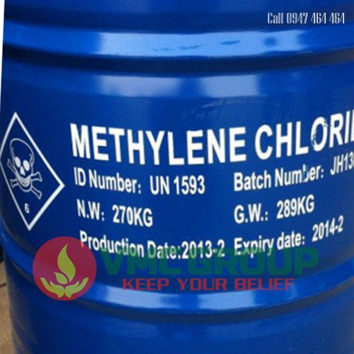 METHYLENE CHLORIDE (MC) CH2CL2 DUNG Moi tay son